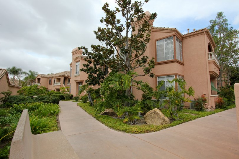 Palmilla Del Oro in Oceanside California, Corner View of Complex
