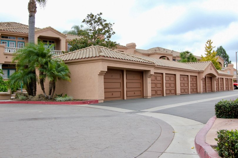 Convenience and safety of garage parking at Palmilla Del Oro.