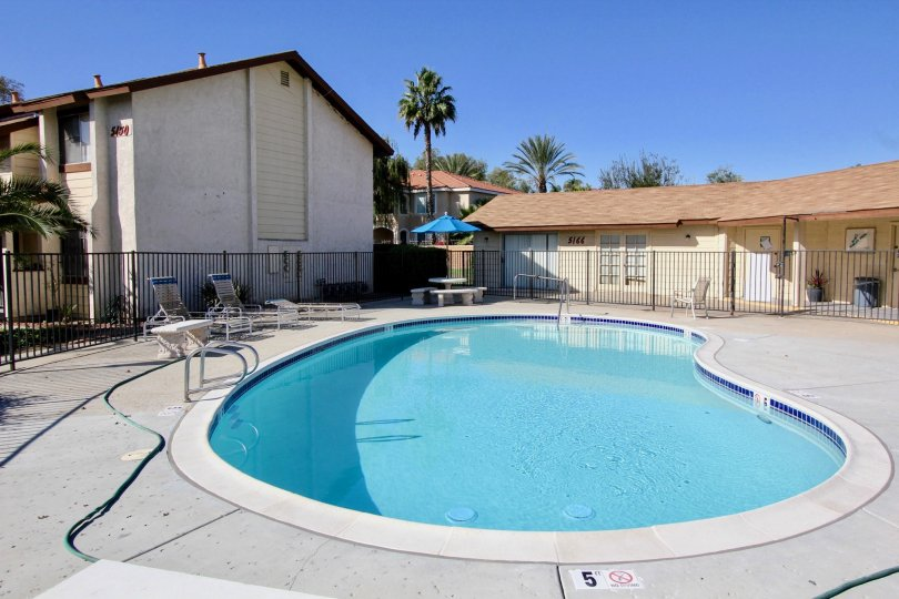 Lots of great days to enjoy the beautiful pool at Riverview Townhomes.