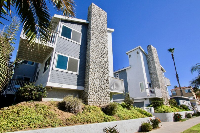 Beautiful homes in the S Tait Street Condos in Oceanside, California