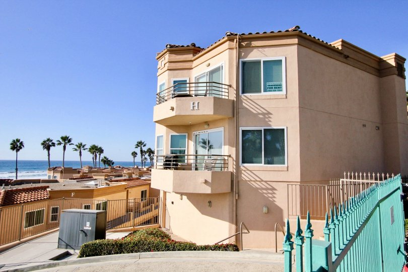 A San Miguel III beautiful home located directly on the ocean in oceanside, CA