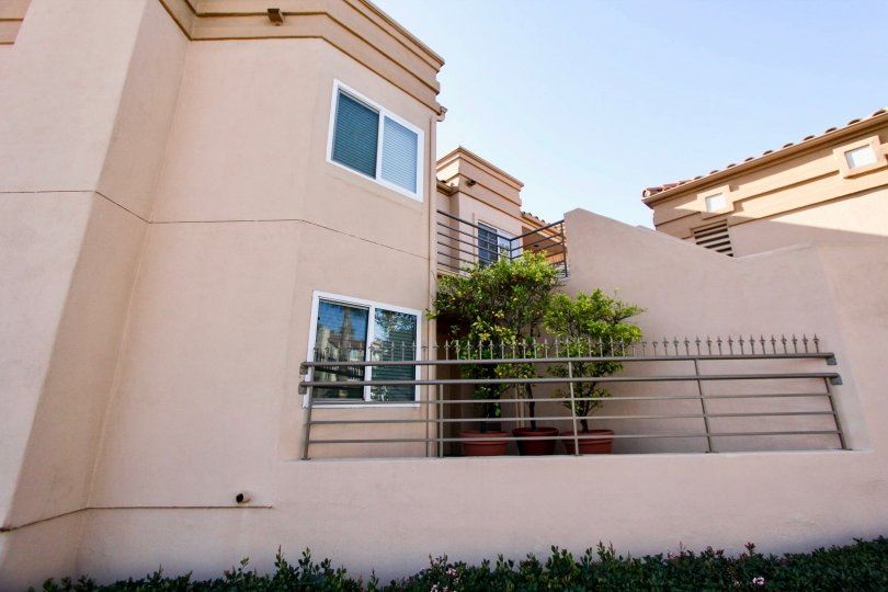 Beautiful beige house with green foliage located at San Miguel lll
