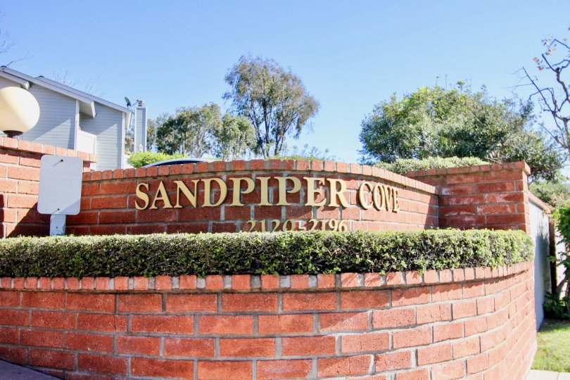 Sandpiper Cove Townhome in Oceanside. Nice mature trees
