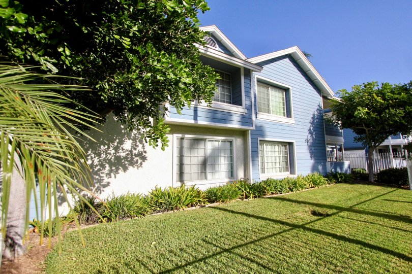 Blue skies shine over this quaint home in a beautiful Oceanside neighborhood