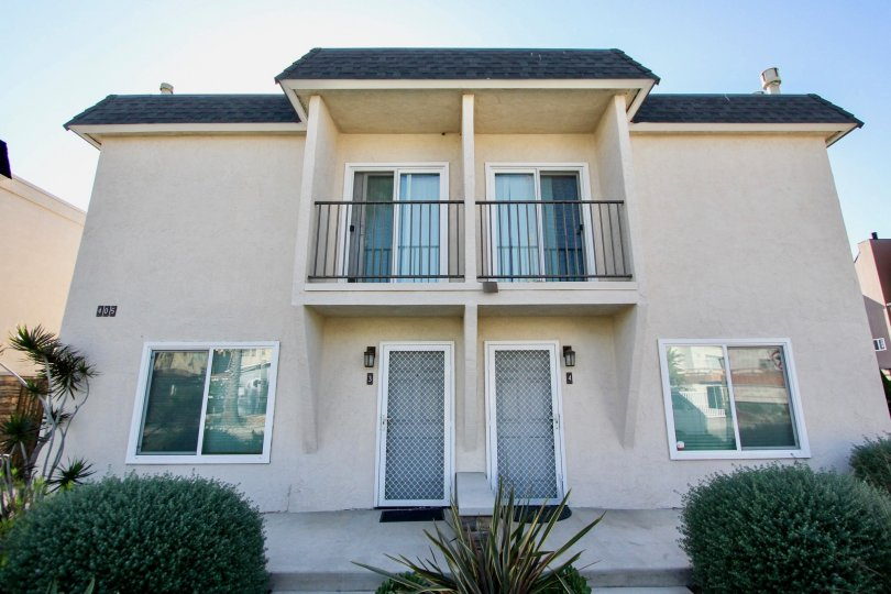 Duplex style units at the Six Palms community in Oceanside, CA