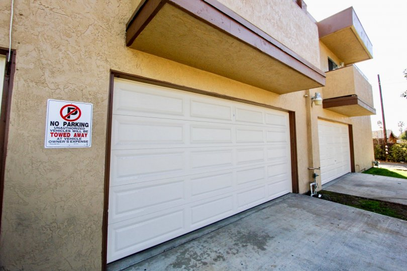 Private garage space to keep you protected when arriving home to Tremont.