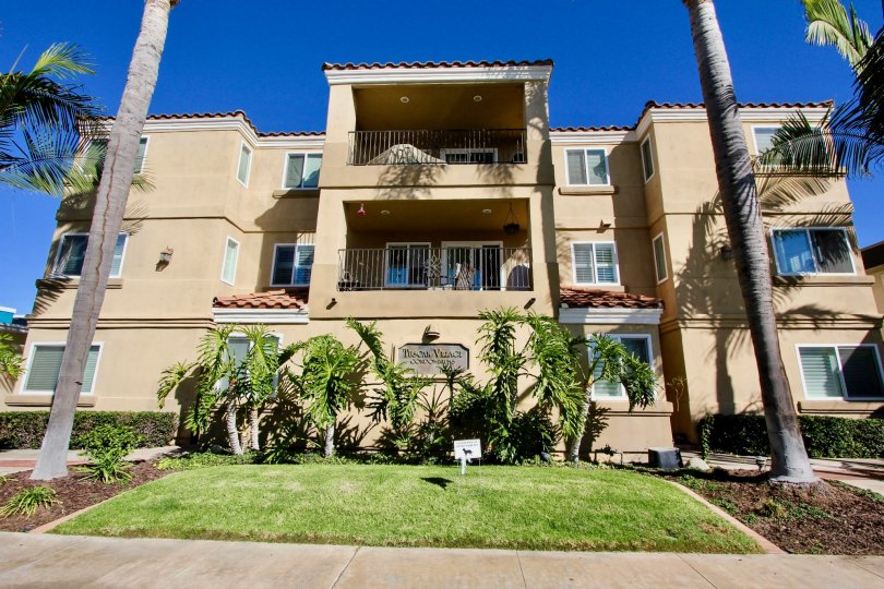 The Tuscan Village Condos are clay condos in Oceanside, California.