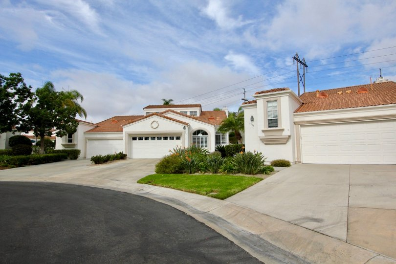 Two homes in Villa Trieste in Oceanside, California