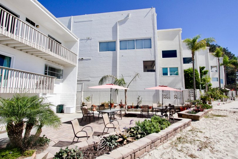 Step right from your patio onto the sandy beach at Bay Contempo.