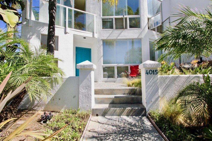 Home in the Bay Contempo community located in Pacific Beach, California