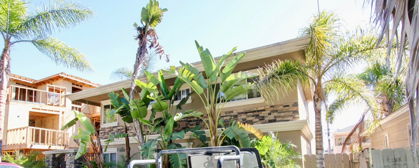 In Front of the House has trees and plants and vehicle is parking at Felspar Park