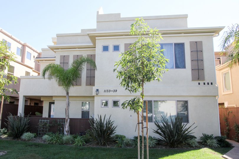 A two story unit of Felspar Townhomes in Pacific Beach