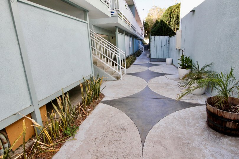 the path way of the heritage on diamond in the city of pacific beach