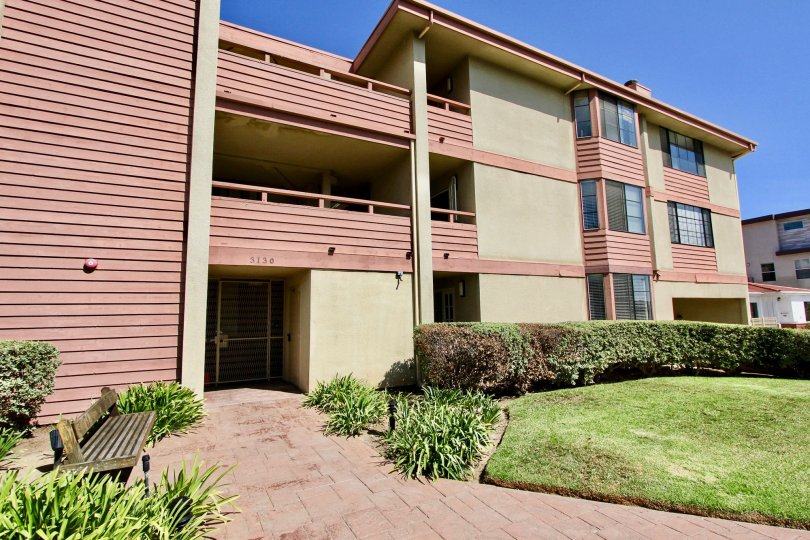 Apartments on Addison Street in Point Loma California