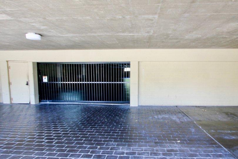 Open space gate, La Playa Community, Point Loma, CA