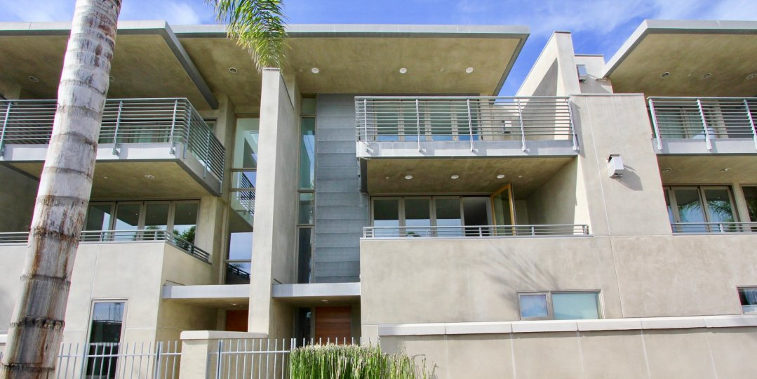 blue sky and big modern design house in Seven on Anchorage Lane