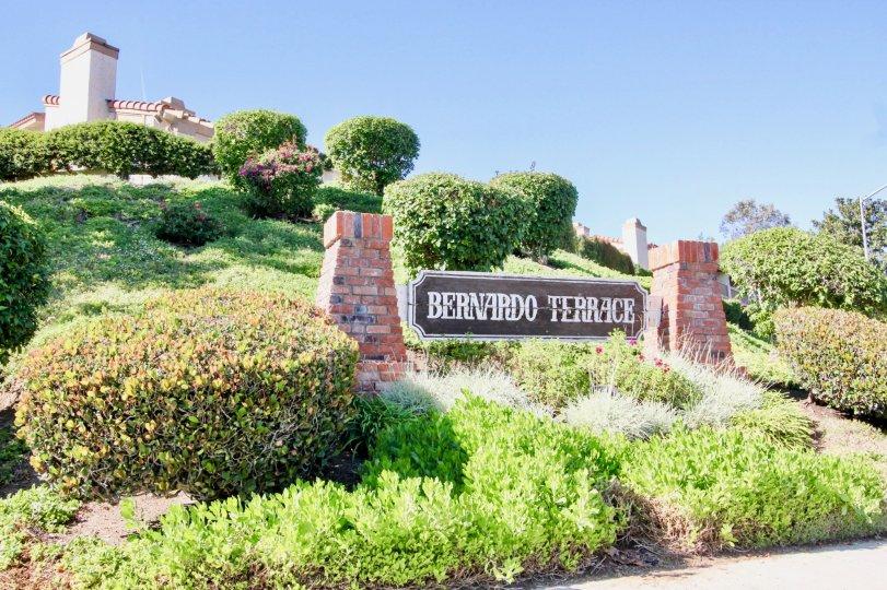 Enjoy a beautiful view at Bernardo Terrace in Rancho Bernardo, California