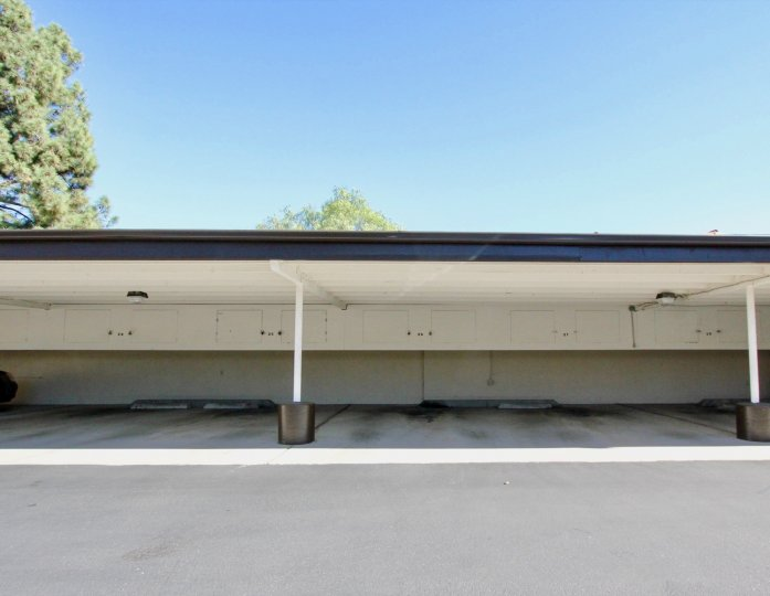 Bernardo Villas, City: Rancho Bernardo, State: California, backside of the building