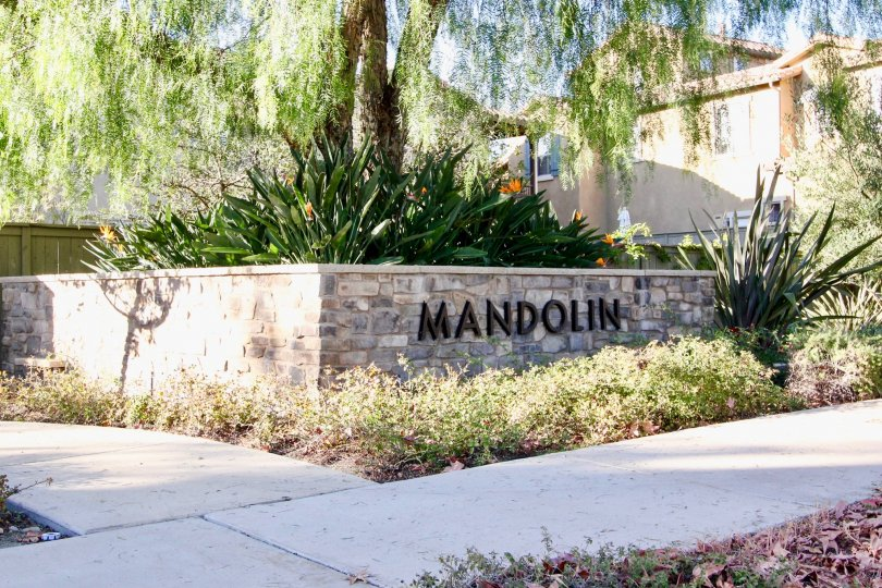 Beautiful view of outside Mandolin II in Rancho Bernardo CA