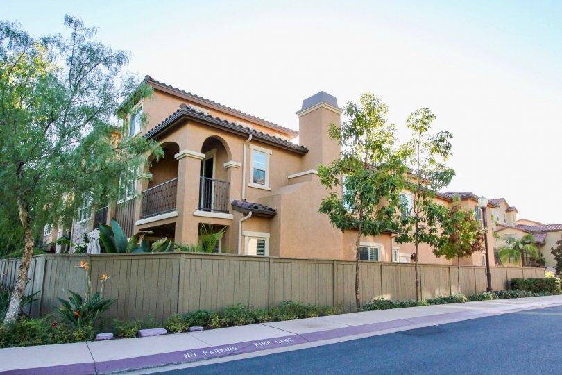 Mandolin II, City: Rancho Bernardo, a beautiful building backside