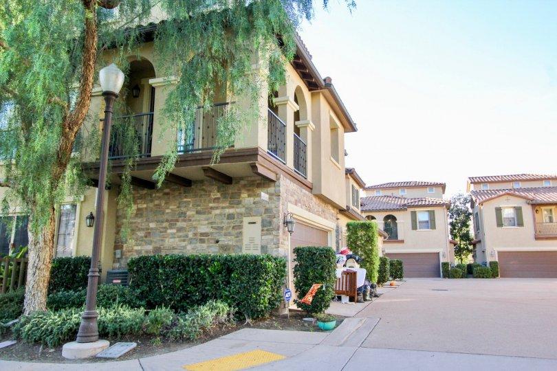 Mandolin II, City: Rancho Bernardo, backside of the building