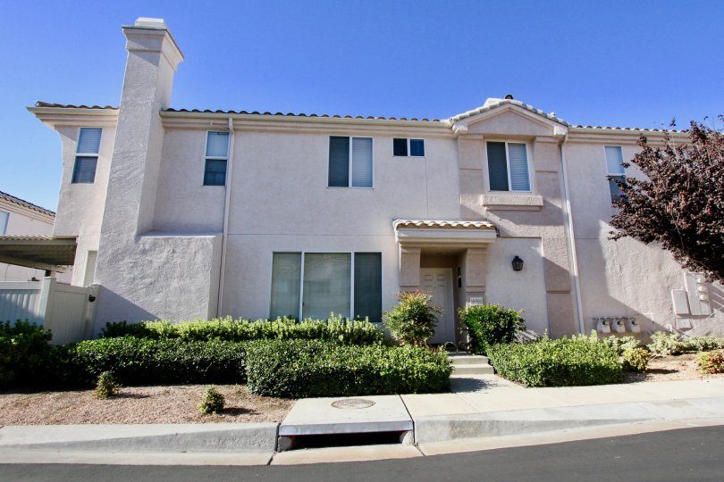 Two story condo homes inside Mira Lago in Rancho Bernardo CA