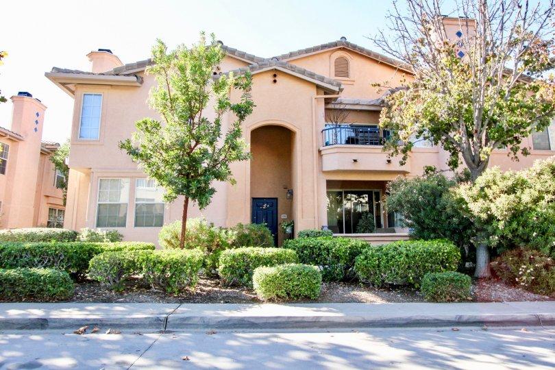 Beautifully landscaped home in Rancho Bernardo California at the Morada neighborhood