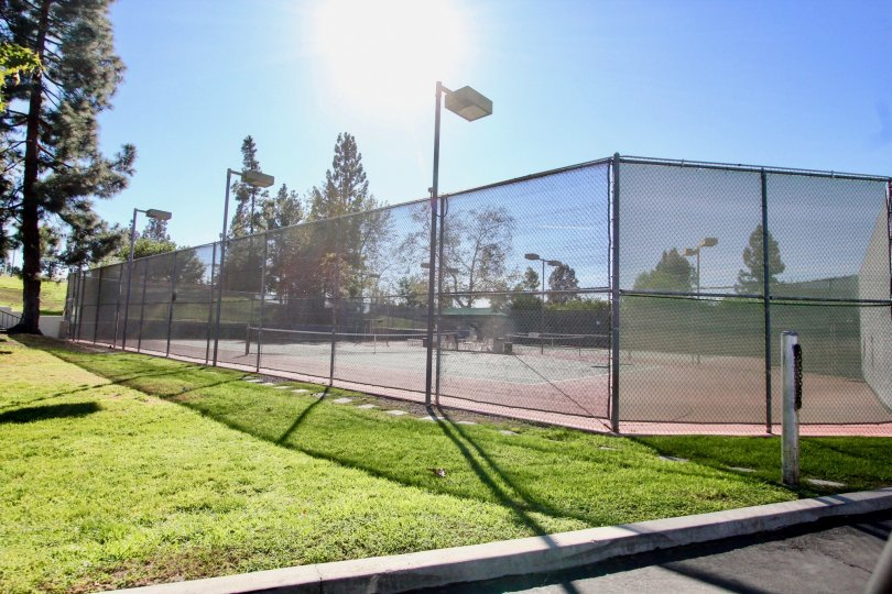 Wonderful tennis courtsfor the residents of Oaks North Village