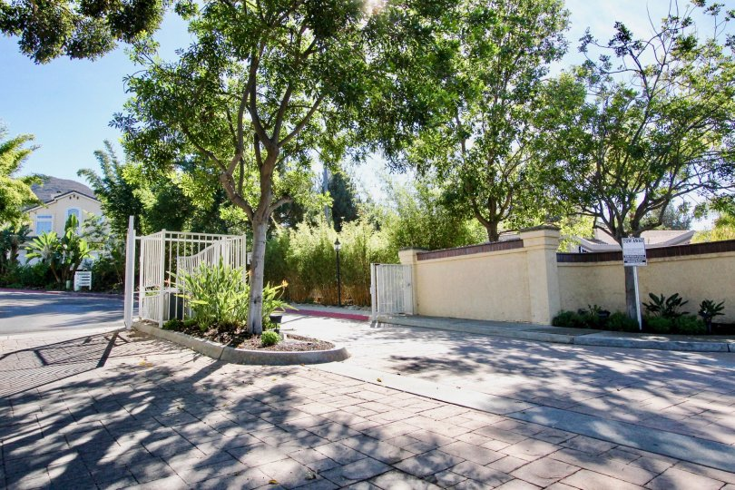 Provencal, City: Rancho Bernardo, nice entrance with trees