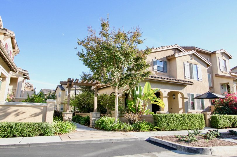 A sunny day and beautiful home in the Ravenna neighborhood of Rancho Bernardo, CA