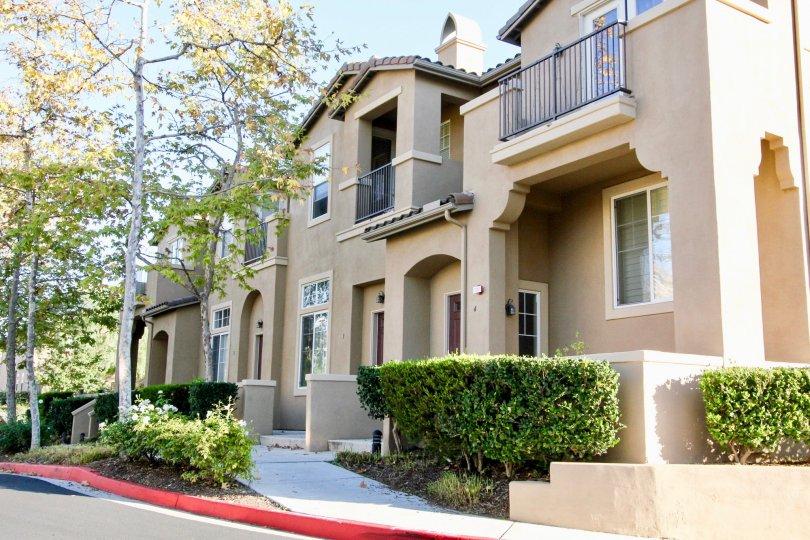 Sycamore Walk, City: Rancho Bernardo, backside of the building, beautiful balconies