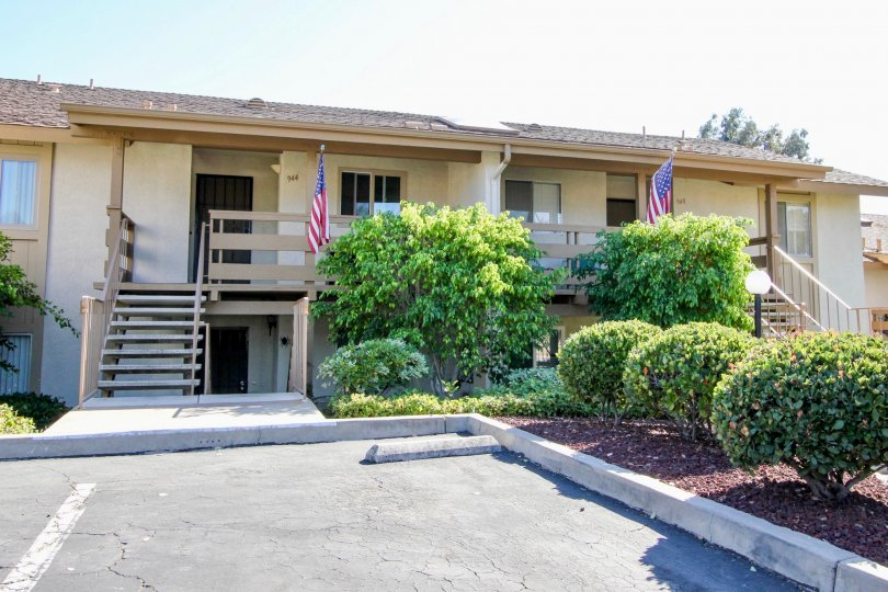 Fairway Knolls apartment community located in San Marcos, California.