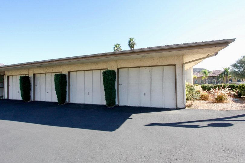 Exclusive garage parking and green meadows in Lake San Marcos III.