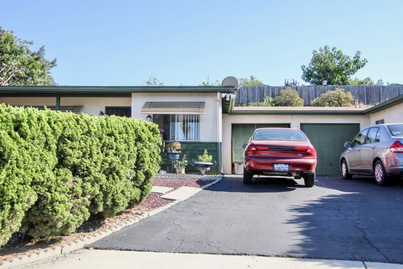 A Bright sunny day with ample of car parking and garden in San Marcos Manor of San Marcos