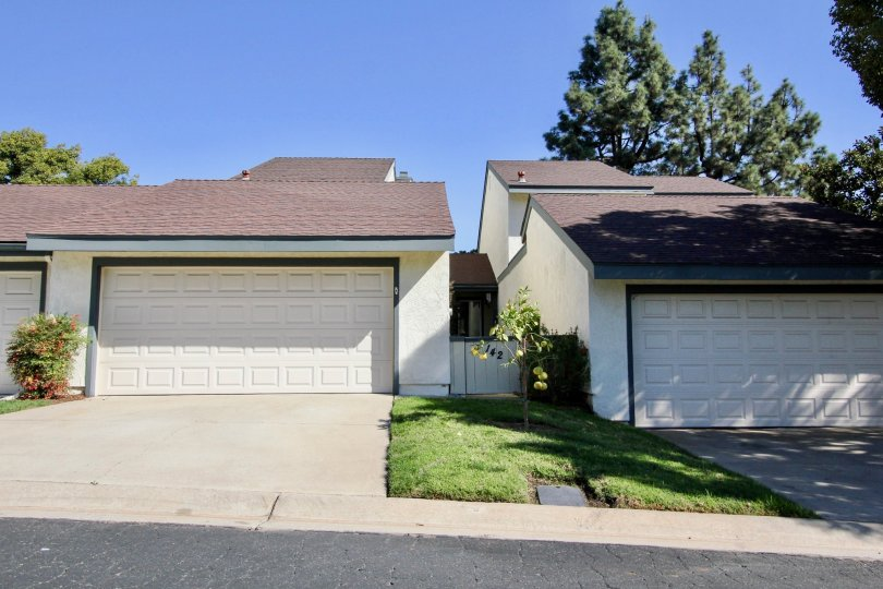 Vallecitos Townhomes two garages San Marcos California