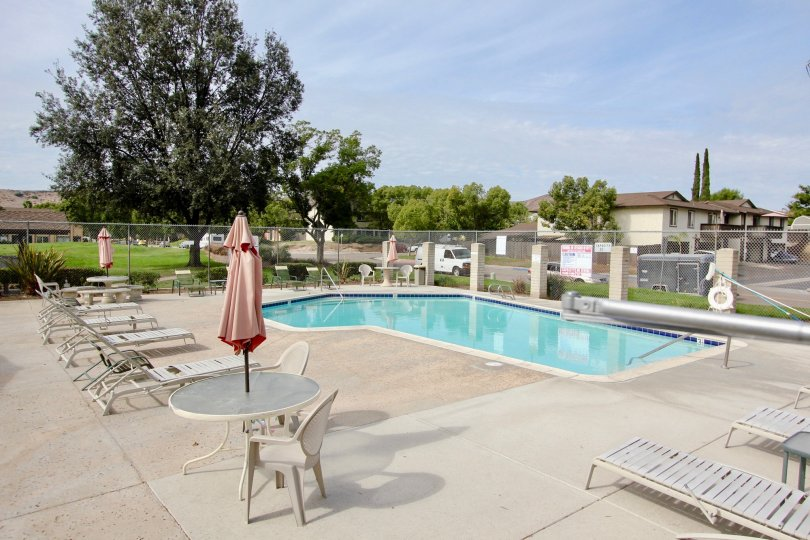 Carefree East , Santee , California,swimming pool,blue sky