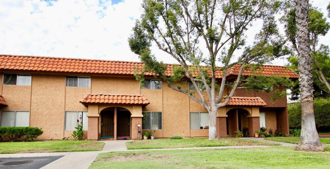 Carlton Country Club Villas , Santee  ,California,tree,lawn,