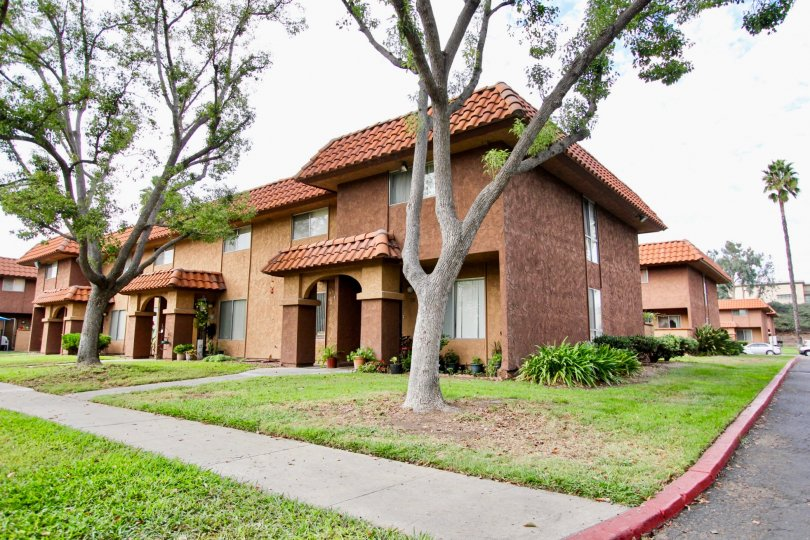 A two story apartment at the Carlton Country Club Villas in Santee Caliornia.