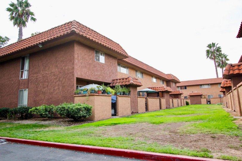Carlton Country Club Villas, ,Santee, California, mauve building, elegant