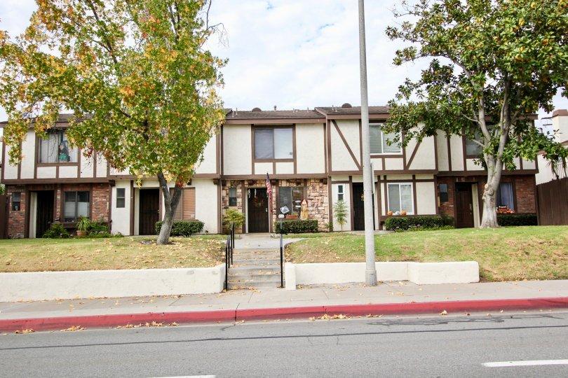 Street view of Carlton Oaks Villas Santee in California