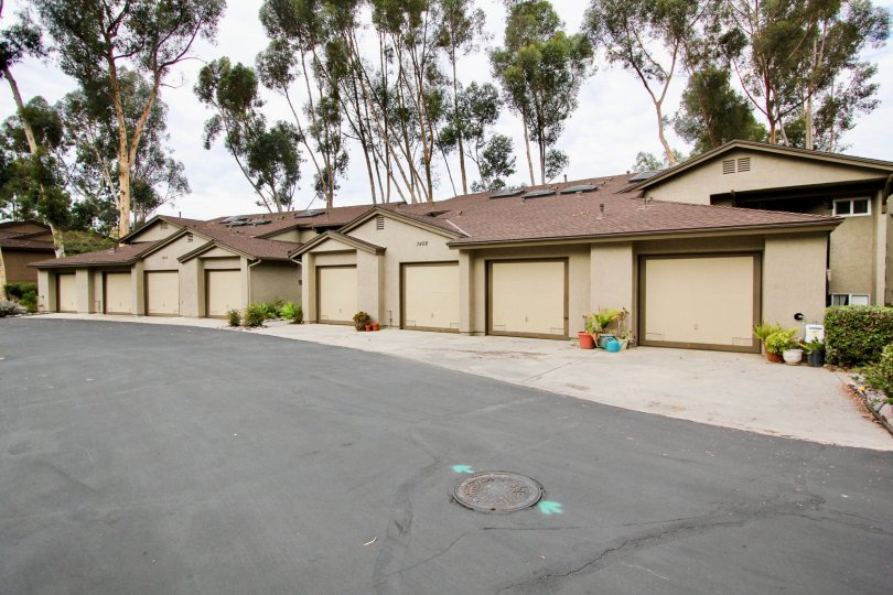 Spacious parking garage space at Highland Trails in Santee, CA