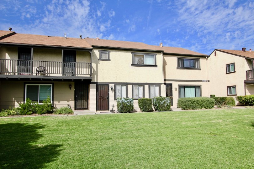 A complex in the Magnolia Meadows community in Santee CA.