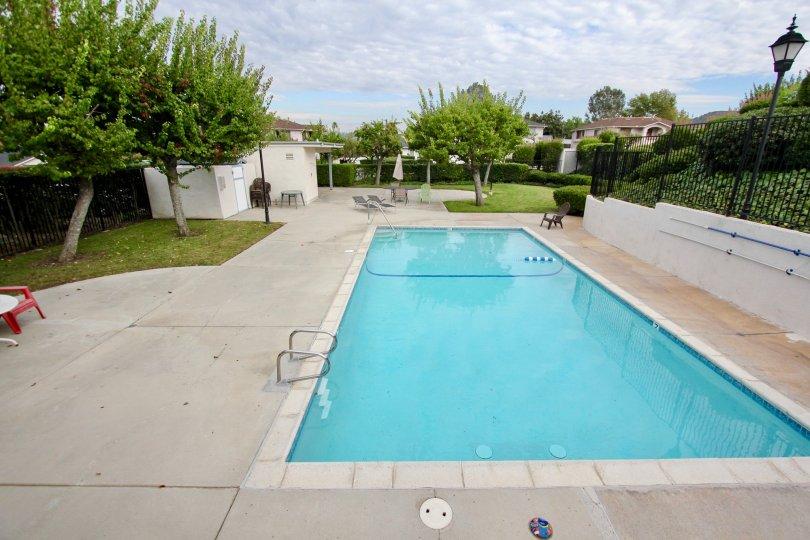 Mission Martinique , Santee,California,swimming pool,trees
