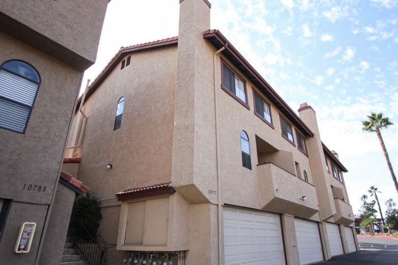 Riderwood Terrace,Santee ,California,clods, blue sky