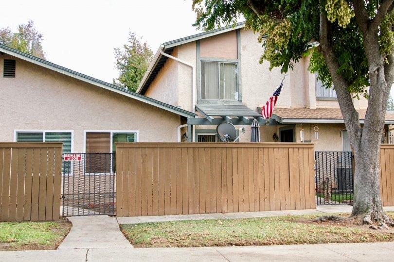 Riderwood Village ,Santee ,California,trees, beige building