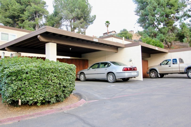Two garages in a home located in Rio Terrace in Santee CA.