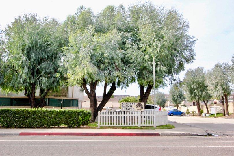 the santana ranch is a beautiful gardening estates in california