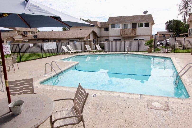 Santana Ranch , Santee  ,California,swimming pool,table