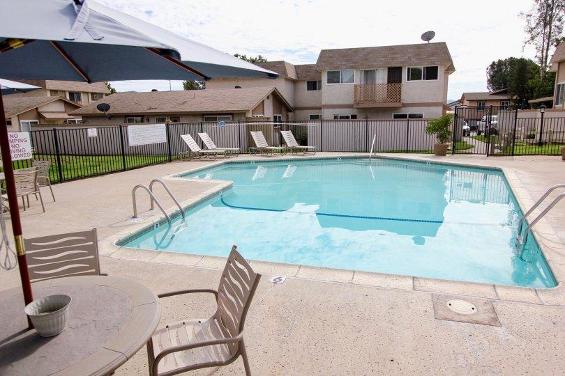 Santana Ranch , Santee  ,California,swimming pool,table