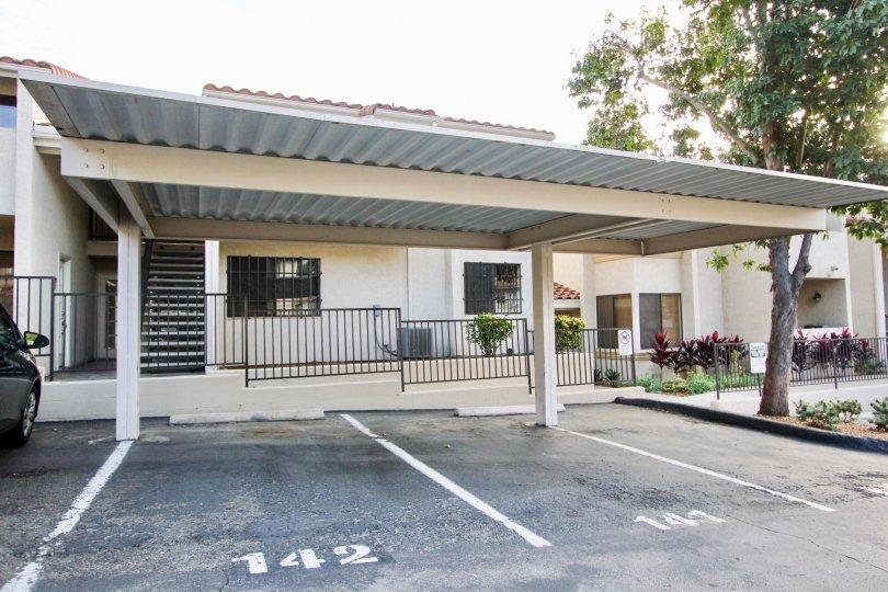 Towne Villas  , Santee  ,California,white building,tree